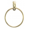 Earhoops Round Gold 19mm